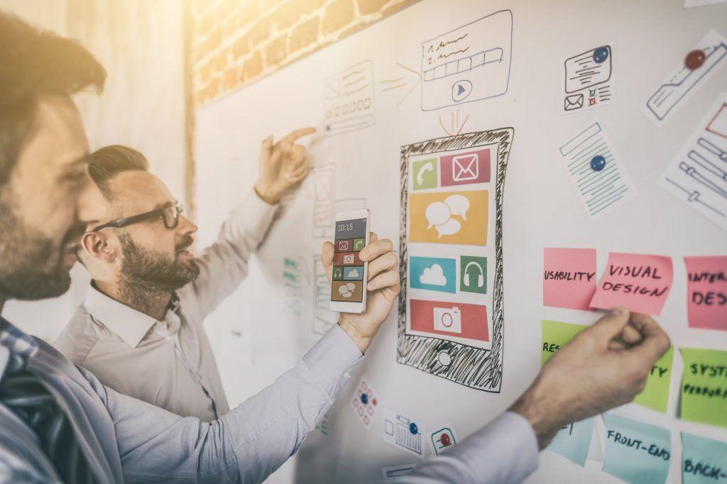 Online Plattform Konzept