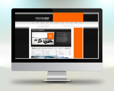 Beispiel Webportal Programmierung Prestigeway