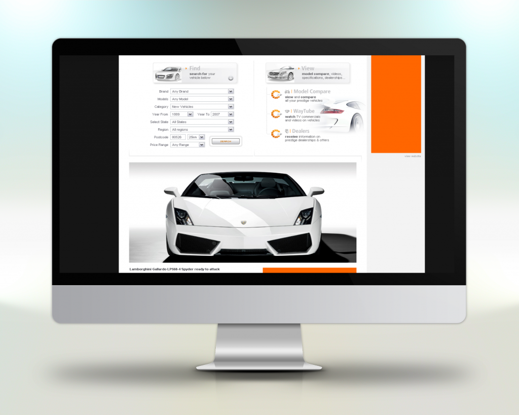 Beispiel Webportal Entwicklung Projekt Prestigeway