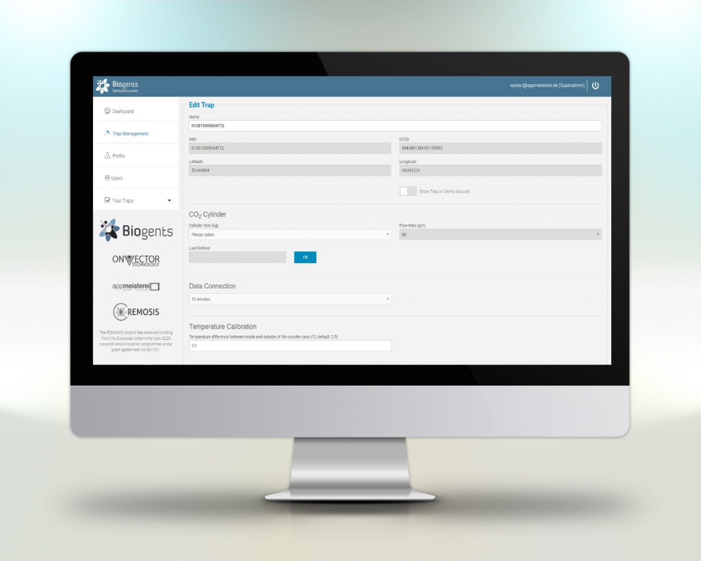 Beispiel Webportal Programmierung Projekt Biogents
